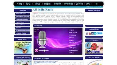 allindiaradio.gov.in