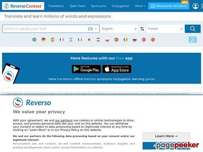 context.reverso.net