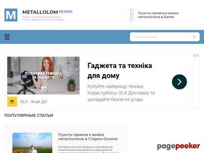 metallolomresurs.ru