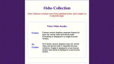 oshosearch.net